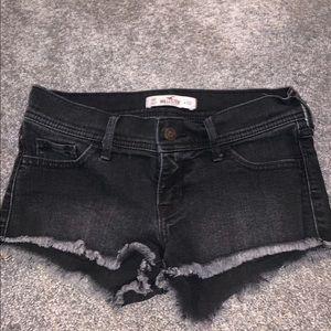Black Hollister shorts